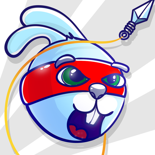 Rabbit Samurai – rope swing hero