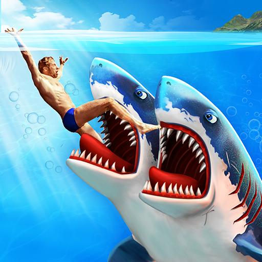 Double Head Shark Attack Multiplayer