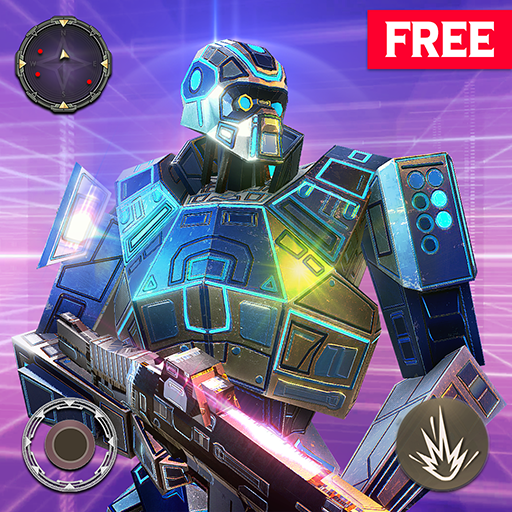 Free Modern Robots Galaxy War Battleground