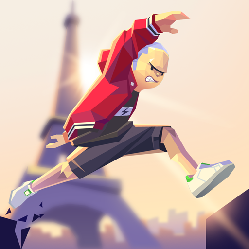 Smashing Rush: Parkour Action Run Game