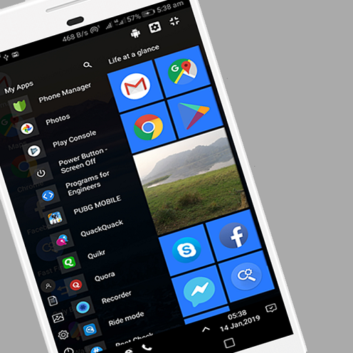WX Launcher Windows 10 Styled 2019 Launcher